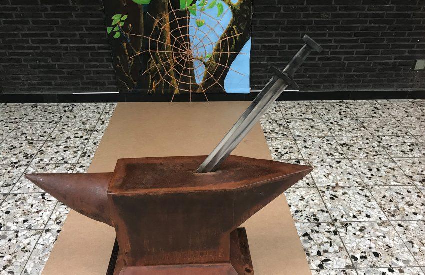 Das Objekt 'Excalibur' von René Schuster.