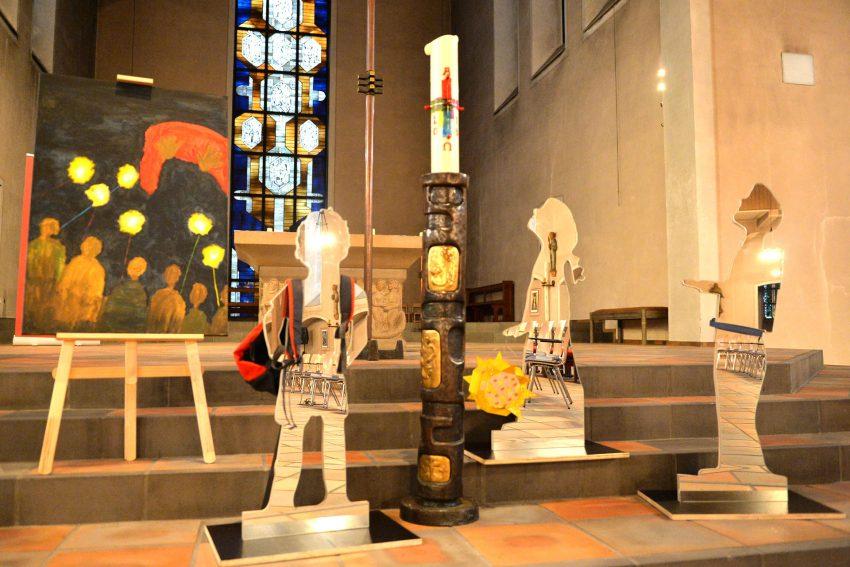 Die etwas andere Krippe - St. Marien Eickel.