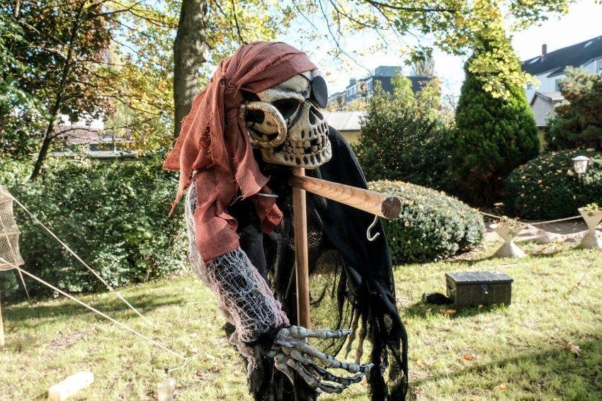Ist nicht echt: dieses Skelett.
