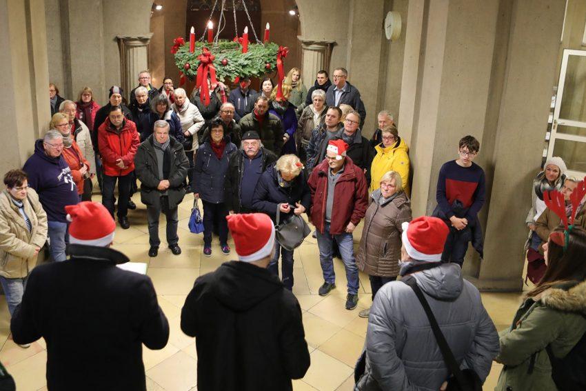 Rathausführung mit der Geschichtsgruppe - Die Vier.