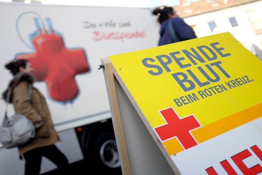 Blutspendetermin beim DRK am 2. Feiertag.