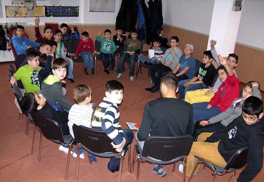 Vorlesetag in der islamischen Gemeinde in Röhlinghausen.