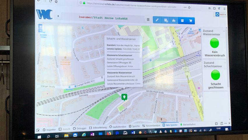 Stadt und Kooperationspartner stellen LoRaWAN Netzwerk und Smart City Plattform vor