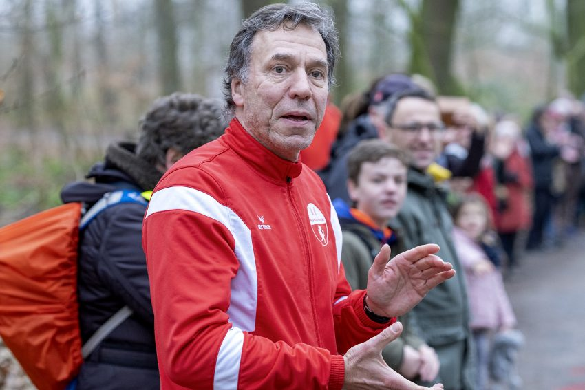 Der 42. Herner Silvesterlauf im Revierpark Gysenberg in Herne (NW), am Dienstag (31.12.2019).