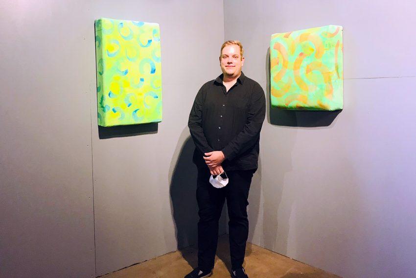 Florian Kunath hat etwa 50 Prozent seiner Arbeiten extra neu für die Ausstellung geschaffen.