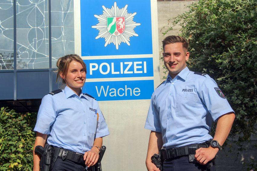 Die Polizei Bochum sucht Auszubildene.