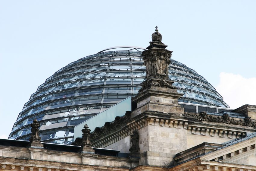 Der Bundestag in Berlin.