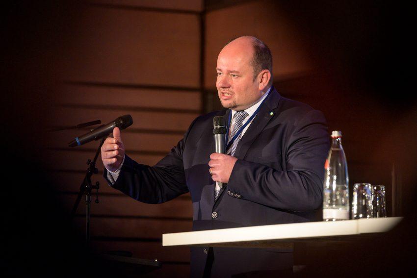 Holger Stoye, Chef der Herner Wirtschaftsförderung. Beim 1. Herner Wirtschaftsempfang.