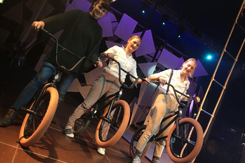 BMX-Räder dank der Glücksspirale.