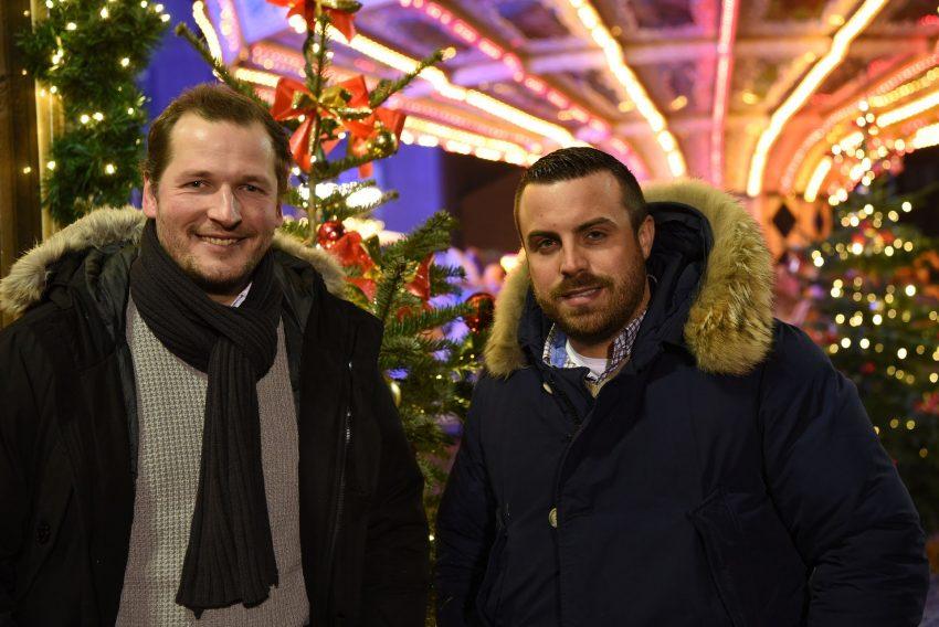 (v.l.) Dominik Hertrich und Sebastian Küchenmeister