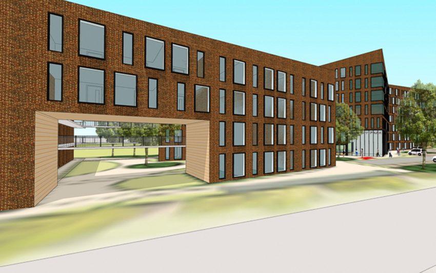 441 Appartements sind geplant.
