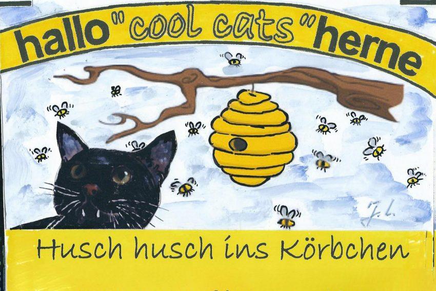 Die Pantringshof-Kids sind ins Honiggeschäft eingestiegen.
