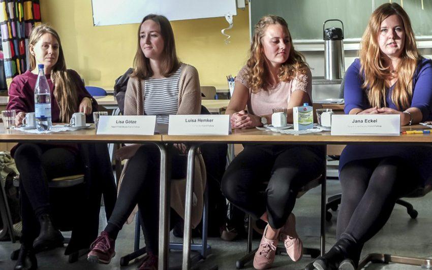 Teilnehmerinnen des TeachFirst Programms.
