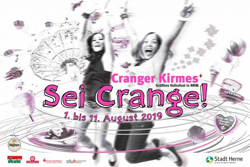 Sei Crange - Crasnger Kirmesplakat 2019.