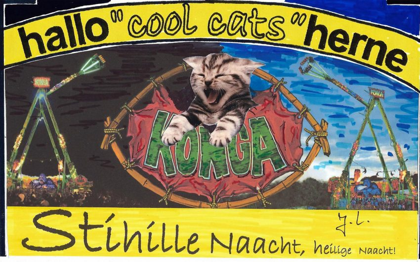Katzenjammer auf Konga.
