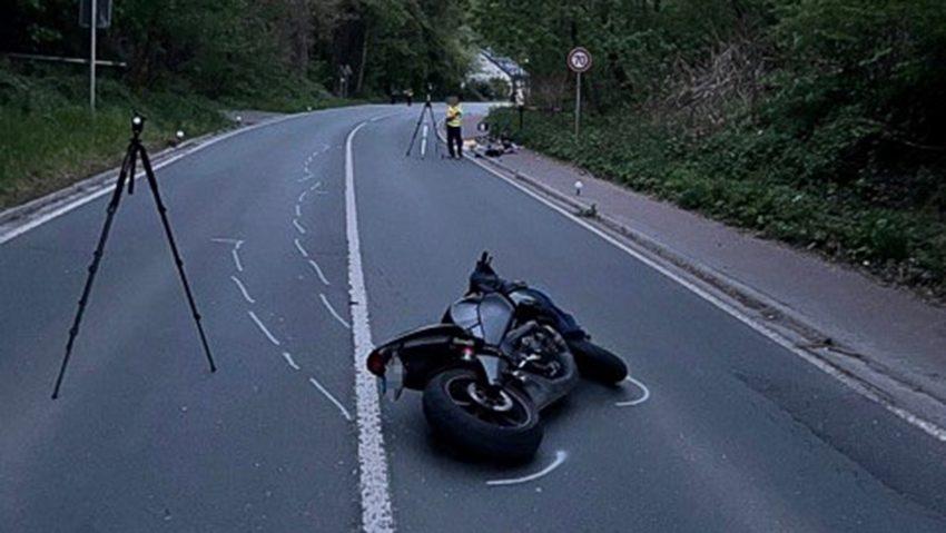 In Witten kam es zu einem Unfall mit einem Motorrad und einem Pedelec.