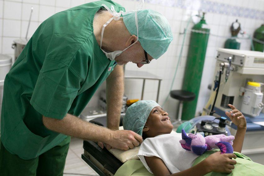 Freiwilligen Einsatz in Brasilien.
