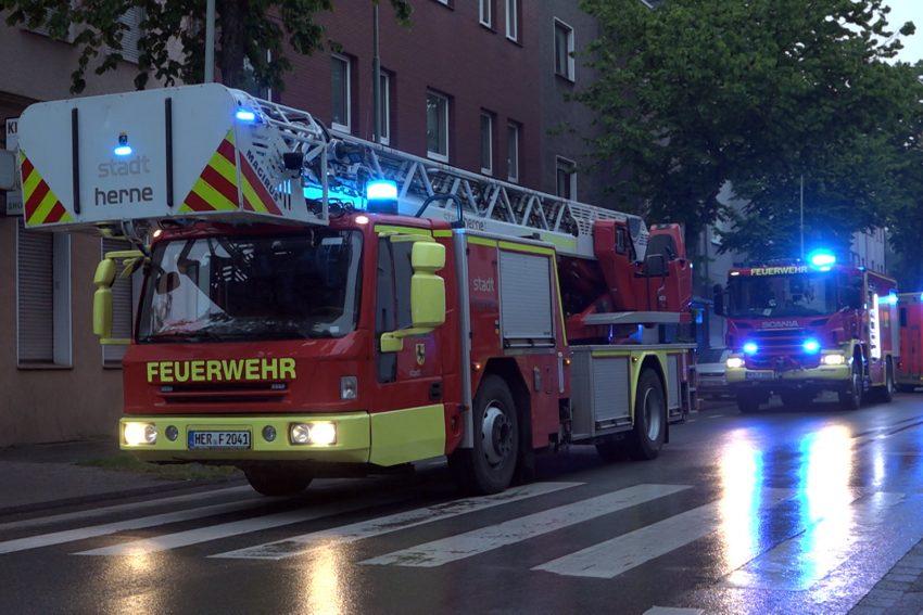 Einsatz Unser Fritz Straße.