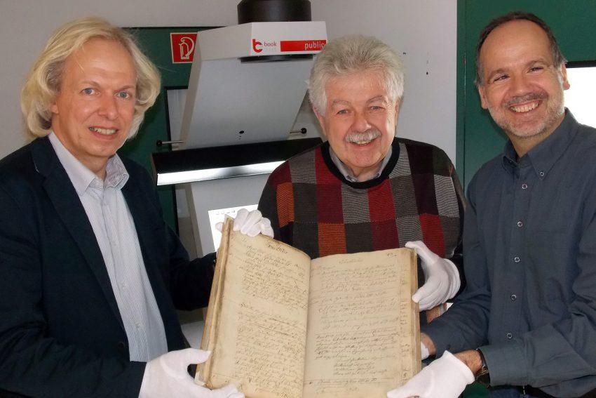 v.l. Thomas Jasper, Manfred Hildebrandt, Jürgen Hagen.