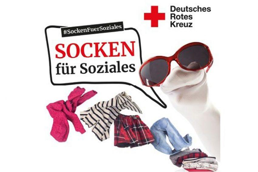 Aktionstag: Socken für Soziales.