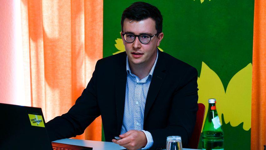 Herner Grüne Wahlkampfauftakt, Fabian May