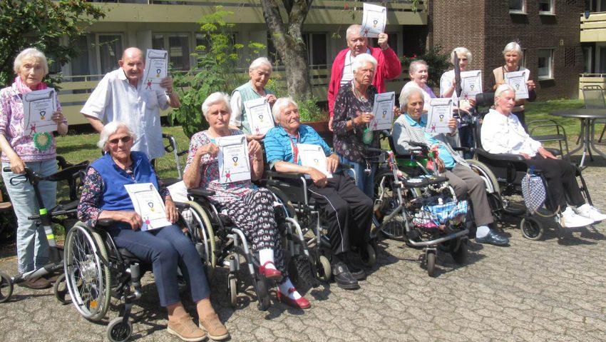 Senioren-Olympiade im Else-Drenseck-Seniorenzentrum.