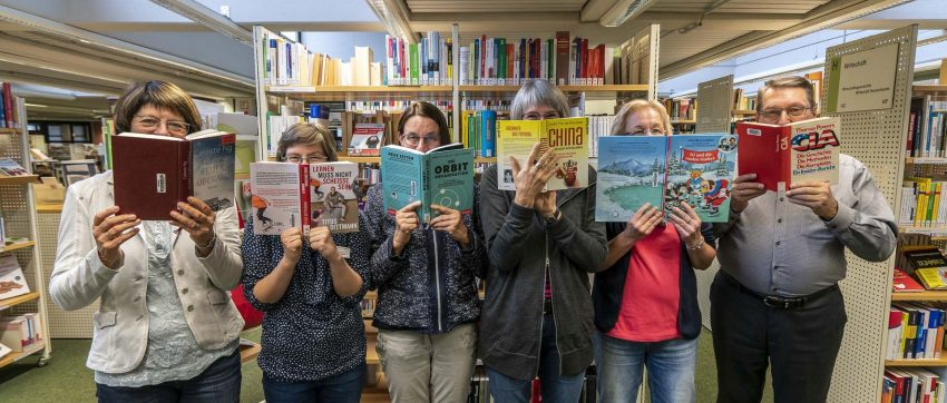 In Herne wird gelesen - Bundesweiter Vorlesetag.