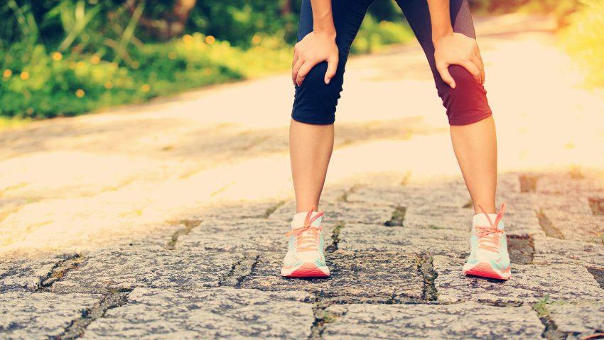 Viele Läufer powern sich am Anfang zu sehr aus. NUR AOK