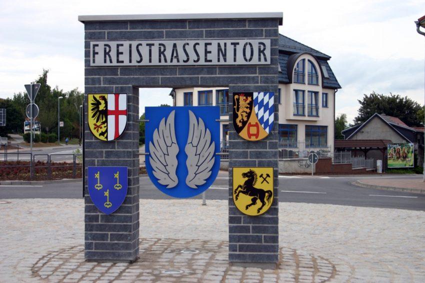 Freistraßentor in Eisleben.