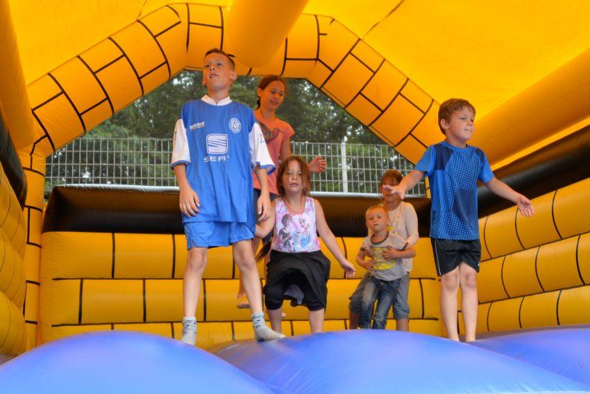 Familien-Sommerfest der Sportfreunde Wanne-Eickel.