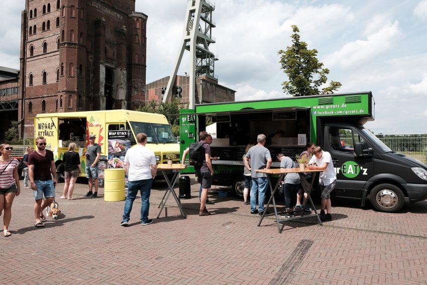 Food-Truck Vestival auf Ewald.