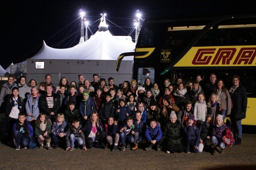 Circus Schnick-Schnack zu Besuch beim Cirque du Soleil.