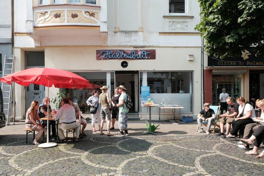 Kultur trifft Quartier - Heinestraße.
