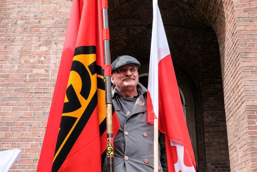 Verdi-Gewerkschaftssekretär Norbert Arndt.