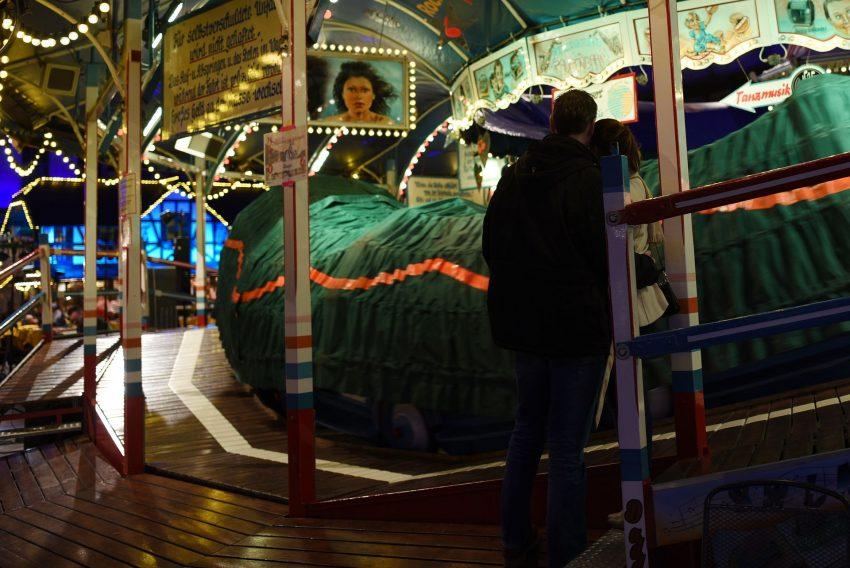Bergfest Cranger Kirmes im Rahmen des historischen Jahrmarktes.