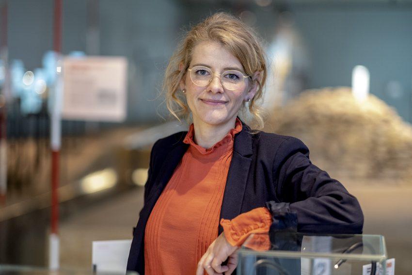 Dr. Doreen Mölders ist seit Jahresbeginn 2019 neue Leiterin des Westfälischen Archäologiemuseums in Herne (NW). Aufnahme vom Montag (14.01.2019).