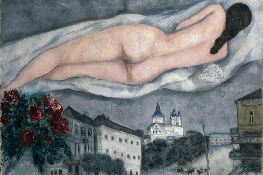 Marc Chagall: Der Akt über Witebsk.