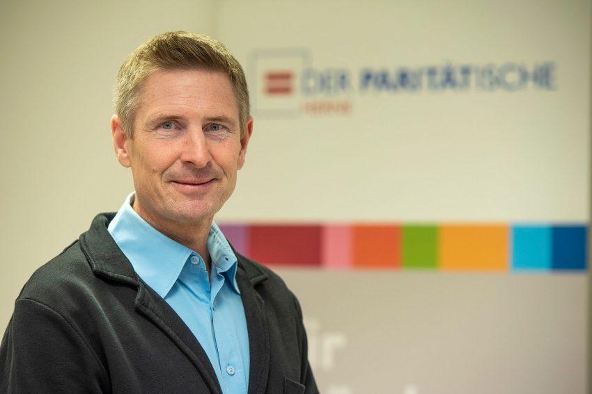 Neuer Geschäftsführer beim Paritätischen in Herne: Quartiersentwickler Oliver Becker.