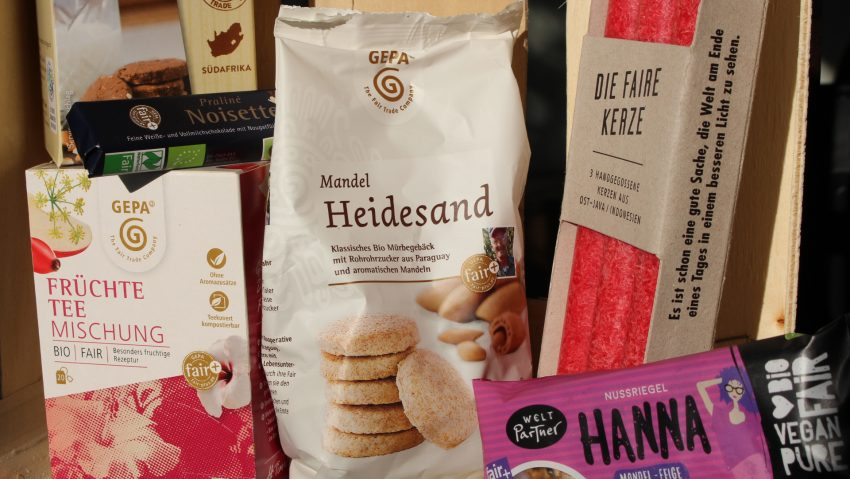 Entsorgung Herne verschenkt an zwei Tagen fair gehandelte Schokolade.
