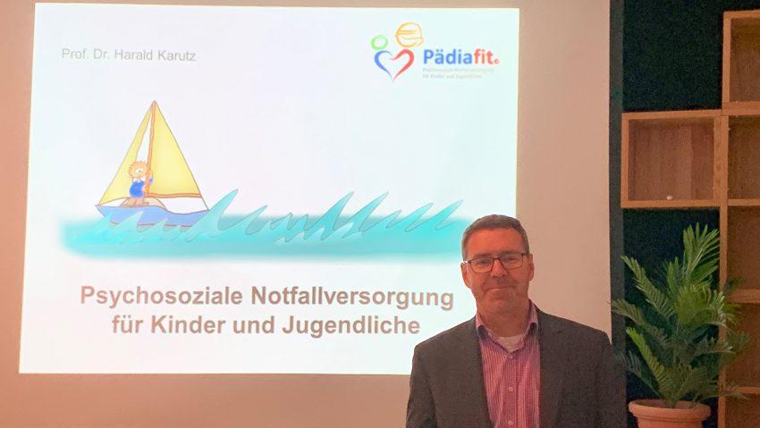 Prof. Dr. Harald Karutz war zu Gast im Team der Notfallseelsorge Herne / Castrop-Rauxel.