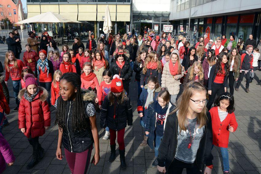One billion rising am Valentinstag (14.2.2015).