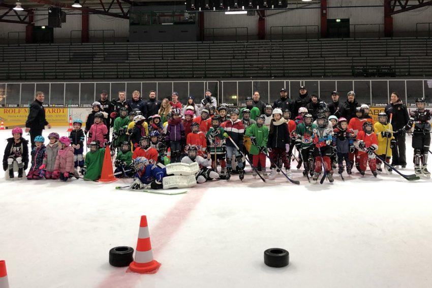 Eishockey-Day im Januar 2019.