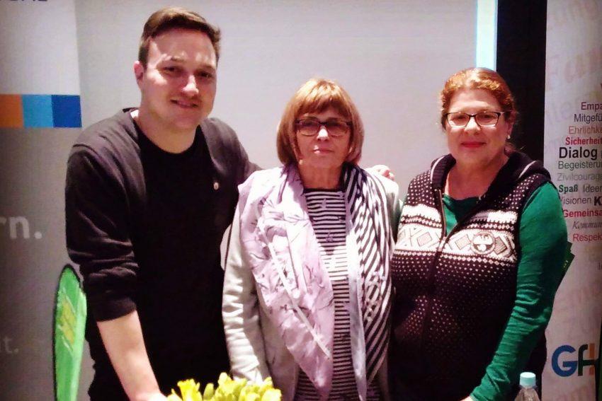 v.l. Jacob Liedtke, Maria Reinke , Susanne Marek.