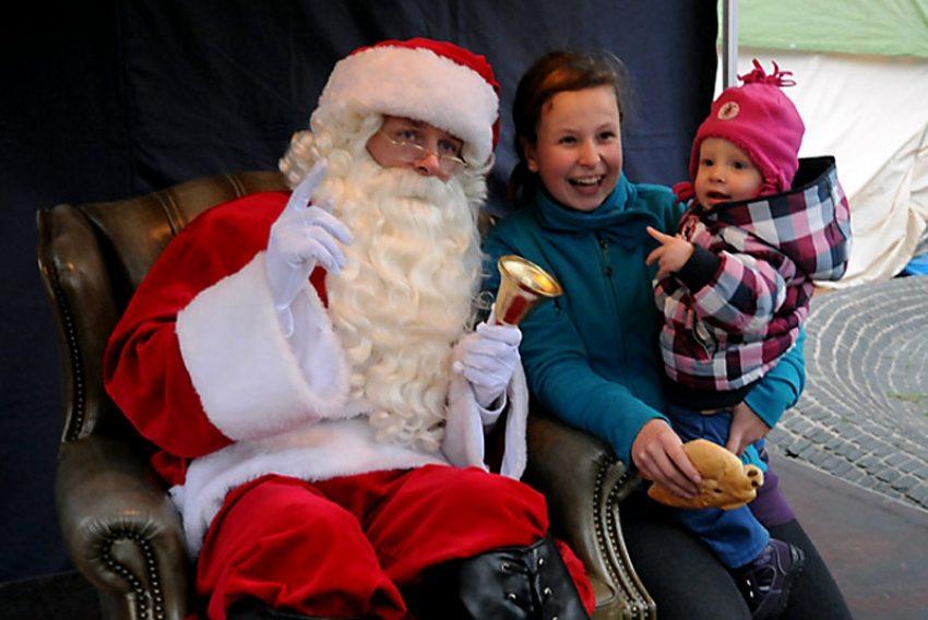 Weihnachtsmann in Westerholt.