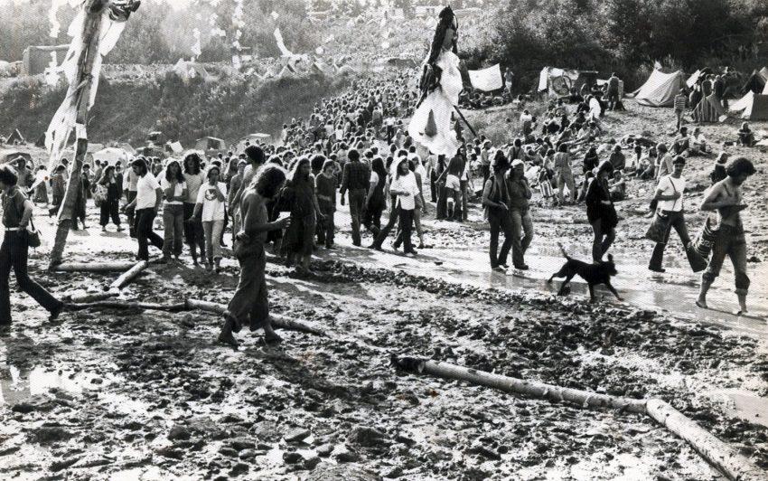 Westfälisches Woodstock: Vlotho und Porta Westfalica: die ersten Umsonst & Draußen- Festivals.