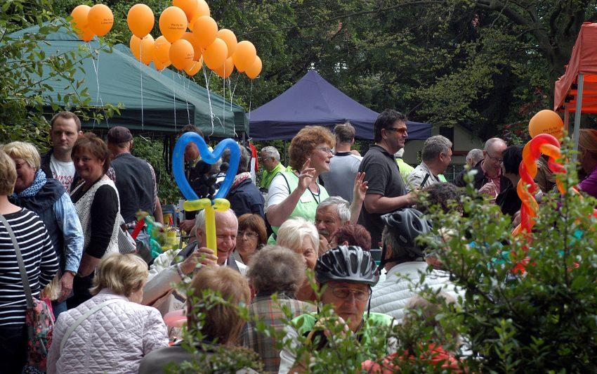Sommerfest nach dem 7. Radeln für das Lukas-Hospiz.