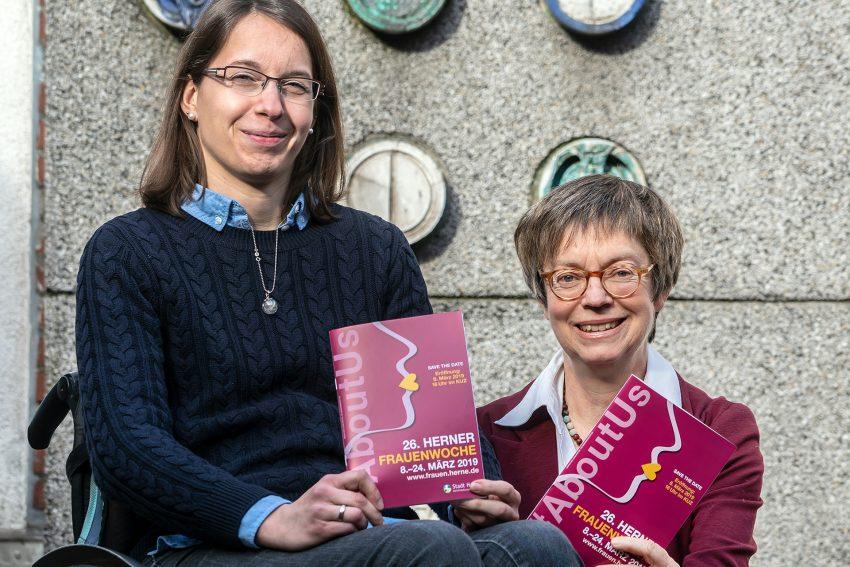 v.l. Melanie Kampa, Sabine Schirmer-Klug