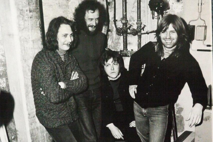 Wanner Musikszene Ende der 1970er Jahre: Zero Zoom in der Besetzung: v.l. Peter Habermehl, Hubert Heidrich, Joe Hanisch, Norbert Müller.