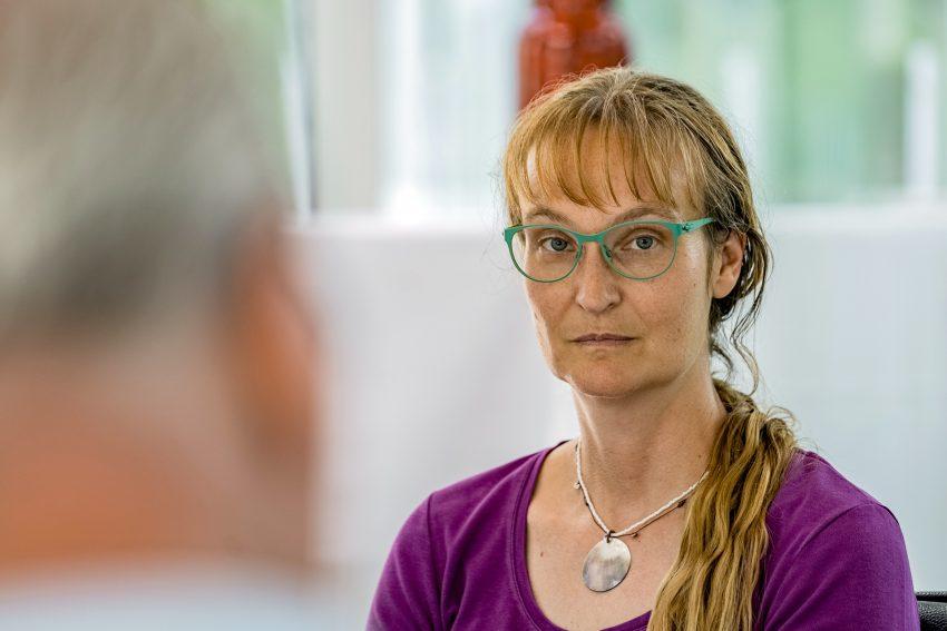 Gudrun Kaltenborn vom Fachbereich Stadtgrün stellte das Programm zum Gartentag zusammen.