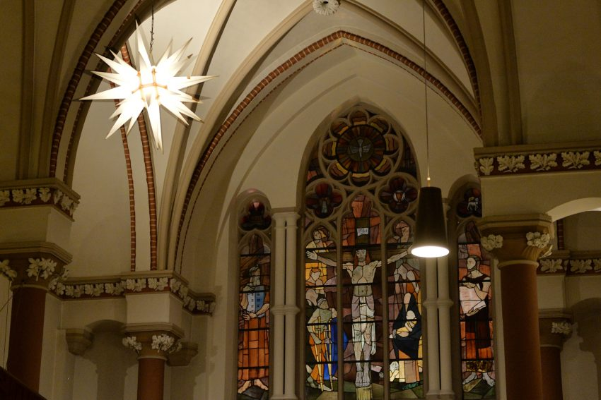 Adventmarkt in der Christuskirche.